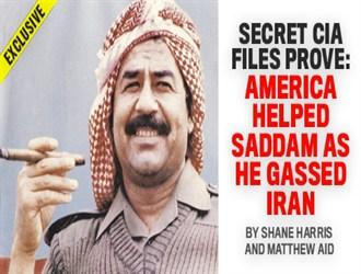 کمک بزرگ آمریکا به صدام در حملات شیمیایی علیه ایران