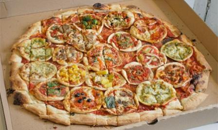 بزرگترین پیتزا جهان+عکس