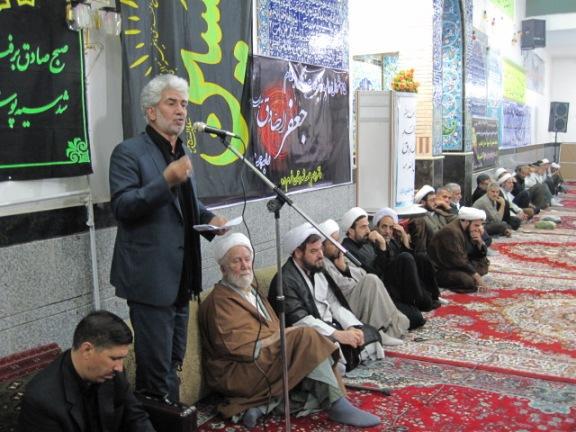 گزارش تصویری از مراسم شب شهادت امام جعفر صادق(ع) در خرمدره