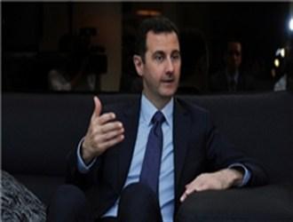 اسد: دلیل پذیرش طرح روسیه تهدیدهای آمریکا نبود/سلاحهای شیمیایی را از خارج به معارضان دادند