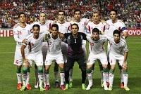 ترکیب تیم ملی مقابل تایلند