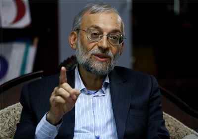 دیدار جواد لاریجانی با هیات اروپایی