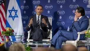 """وقتیکه راه """"ژنو"""" از """"تلآویو"""" میگذرد/ رفتار متفاوت ضعیفترین رئیسجمهور آمریکا در محافل صهیونیستی"""