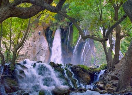 """""""طولانیترین آبشار ایران"""" در کجا واقع شده است + تصاویر"""