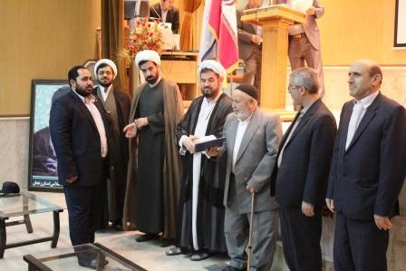 سیدمهدی ابوطالبی بعنوان دادستان جدید شهرستان خرم دره معرفی شد