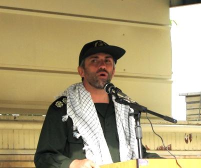 سرهنگ صادقی:روز قدس روز احیاء و بیداری مسلمین جهان است