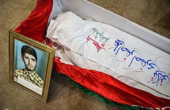 شهیدی که پس از سالها به وطن بازگشت + عکس