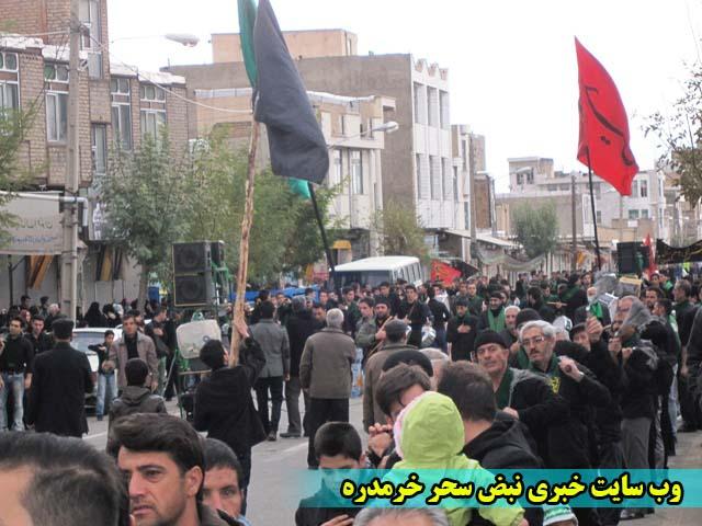 تصاویر/تاسوعای حسینی در شهرستان خرمدره