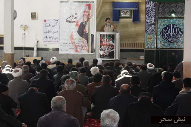 گزارش تصویری از مراسم گرامیداشت حماسه 9 دی در خرمدره
