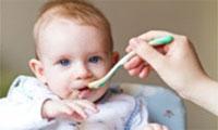غذای کودک ۴ ماهه
