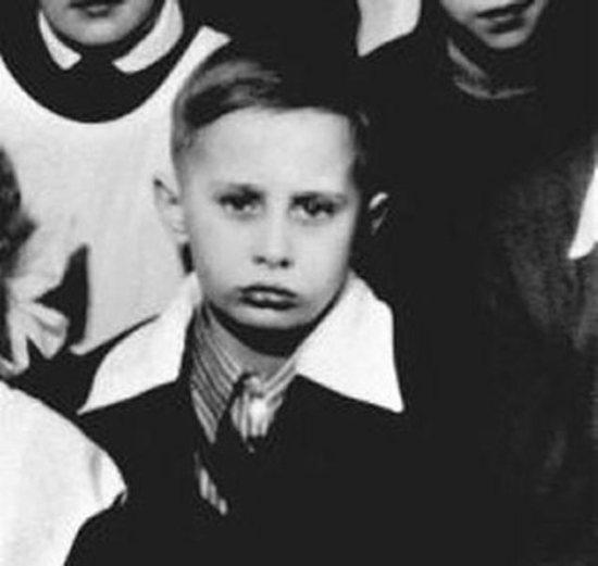 وقتی «پوتین» کوچک بود/عکس