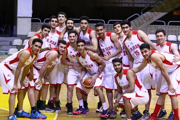 پیش از اعزام به مسابقات قهرمانی جهان آخرین تمرین تیم ملی بسکتبال جوانان در تهران + تصاویر