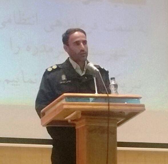 فرمانده نیروی انتظامی خرمدره معرفی شد