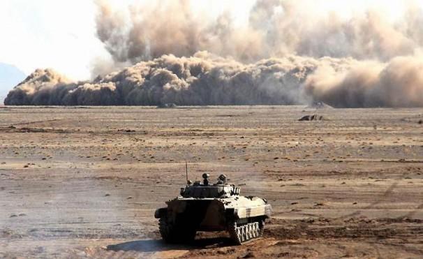 مرحله اصلی رزمایش پدافندی نیروی هوافضای سپاه