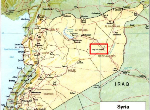 چرا سپاه پاسداران دیرالزور را هدف قرار داد؟ + نقشه و جزئیات