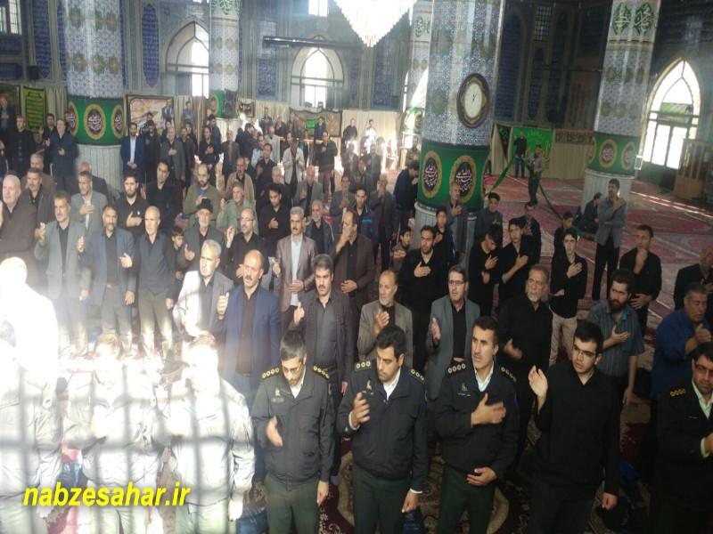 مراسم اربعین حسینی در خرمدره برگزار شد