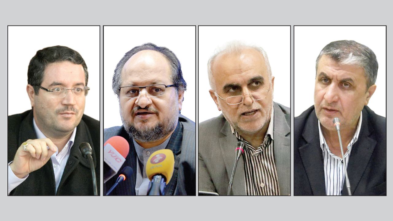 سرنوشت ۴ وزیر پیشنهادی دولت چه میشود؟