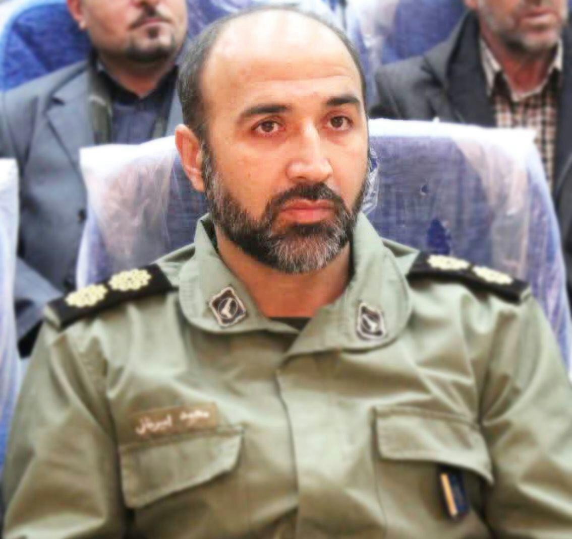 محمد امیرخانی فرمانده سپاه ناحیه خرم دره شد