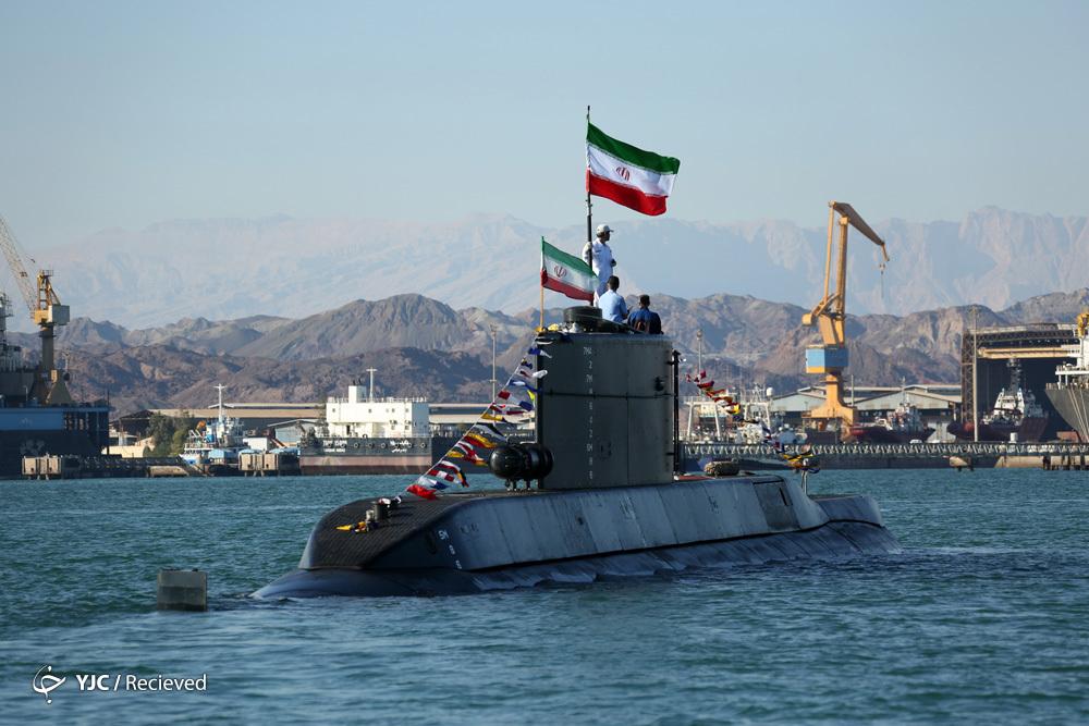 زیردریایی «فاتح» به نیروی دریایی ارتش جمهوری اسلامی ایران ملحق شد+ تصاویر