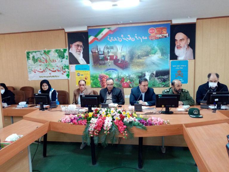 پنجمین جلسه کارگروه سلامت و امنیت غذایی شهرستان خرم دره برگزار شد