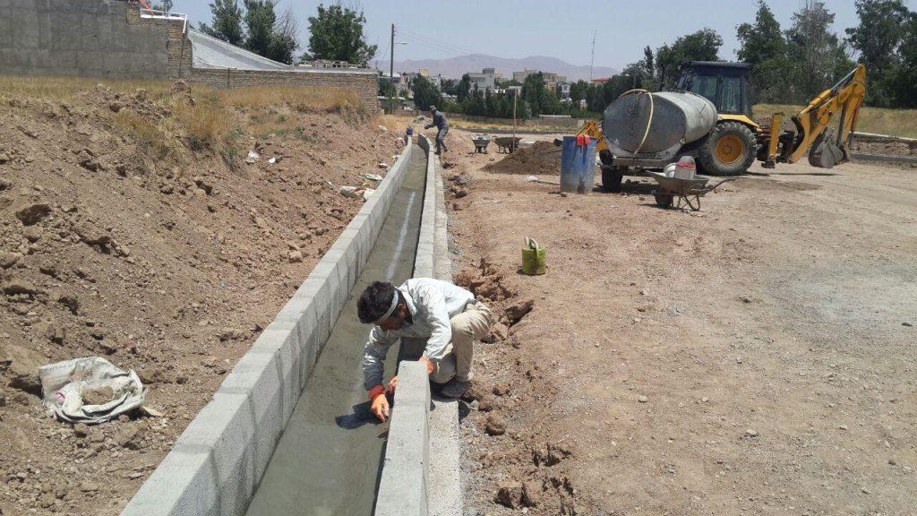 تصاویر/ فعالیت های عمرانی شهرداری خرمدره