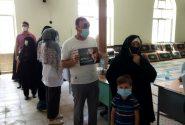 حضور مردم خرمدره  در پای صندوقهای رای+ تصویر